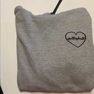 volleyball sweatshirt